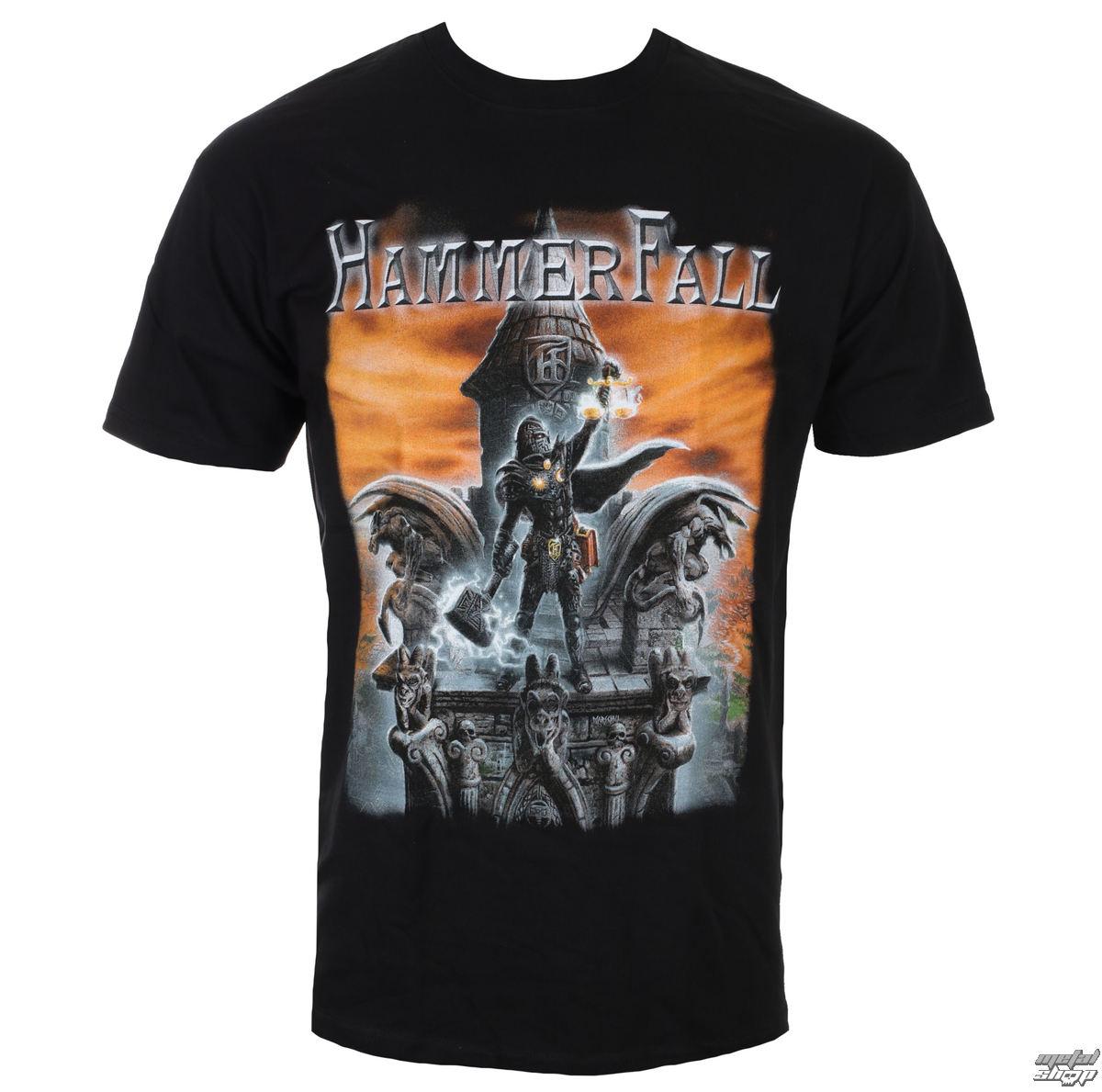 To Built Shirt Napalm Métal Last Pour Tee Hammerfall Records Hommes f6Y7ybgv