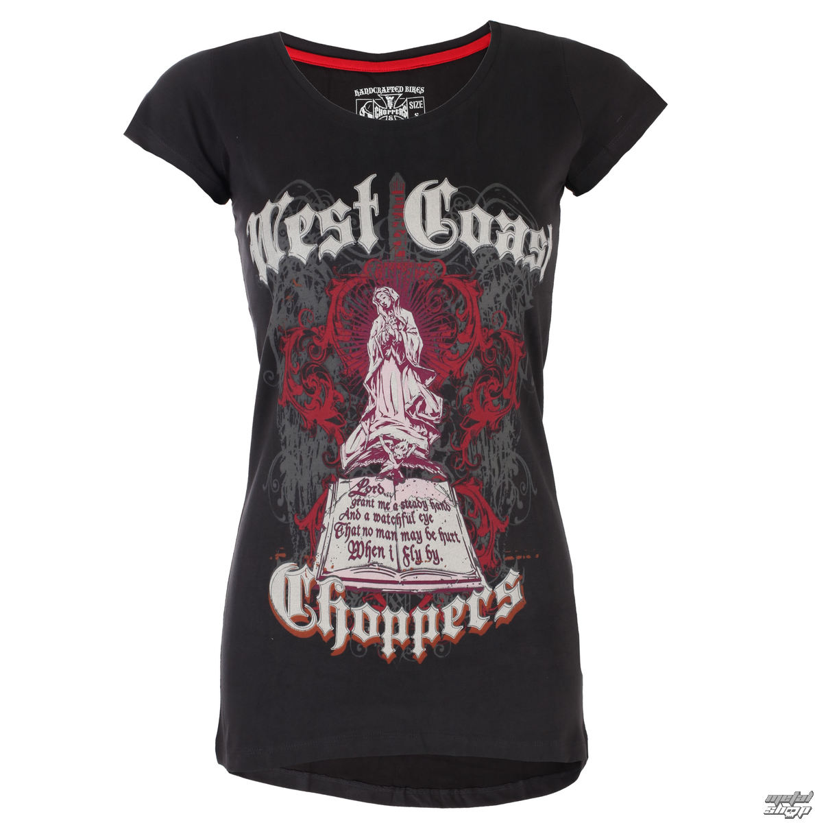 t-shirt pour femmes - SAINT - West Coast Choppers