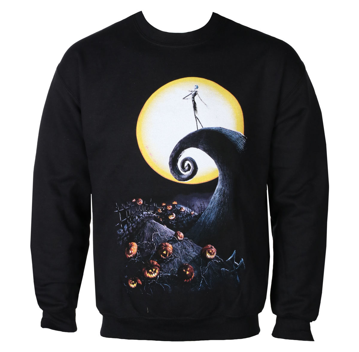 sweat-shirt sans capuche pour hommes - NIGHTMARE BEFOR CHRISTMAS - GRIMM DESIGNS
