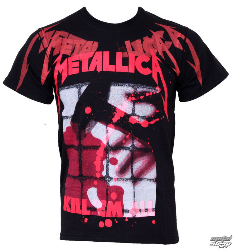 tee-shirt métal pour hommes Metallica - Kill Faded - ATMOSPHERE