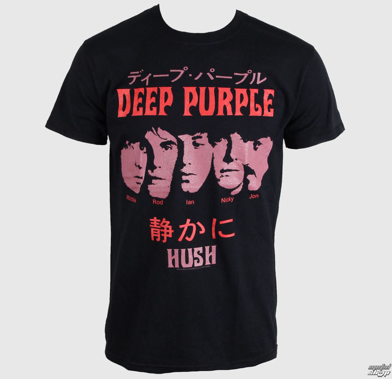 tee-shirt métal pour hommes Deep Purple - Hush Japan - PLASTIC HEAD