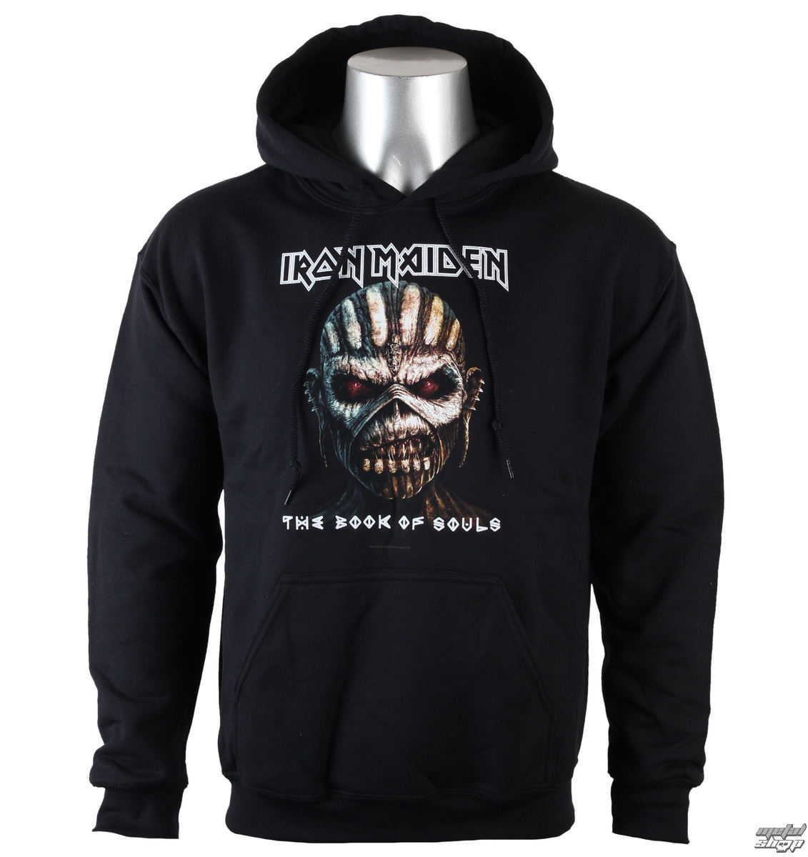 sweat shirt avec capuche pour hommes iron maiden book of souls rock off imhood03mb. Black Bedroom Furniture Sets. Home Design Ideas