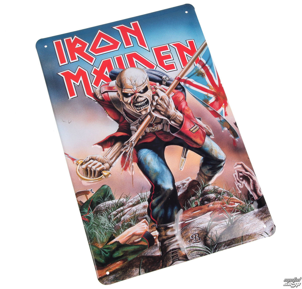 signes Iron Maiden - The Trooper
