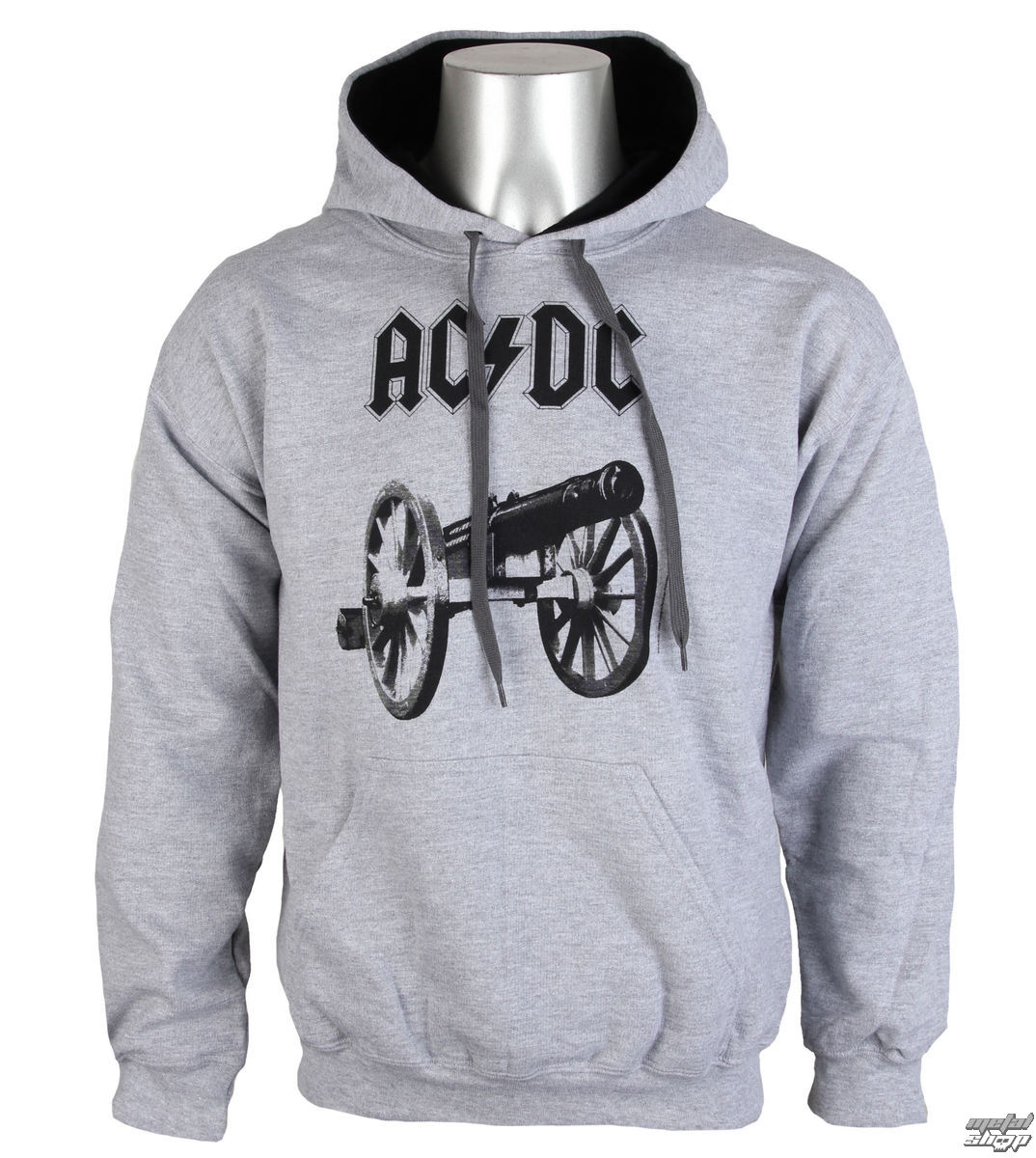 sweat shirt avec capuche pour hommes AC DC For Those About To Rock LOW FREQUENCY