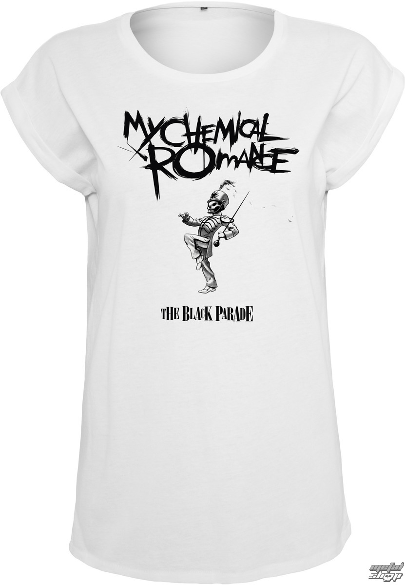 tee-shirt métal pour femmes My Chemical Romance - Black Parade Cover - NNM