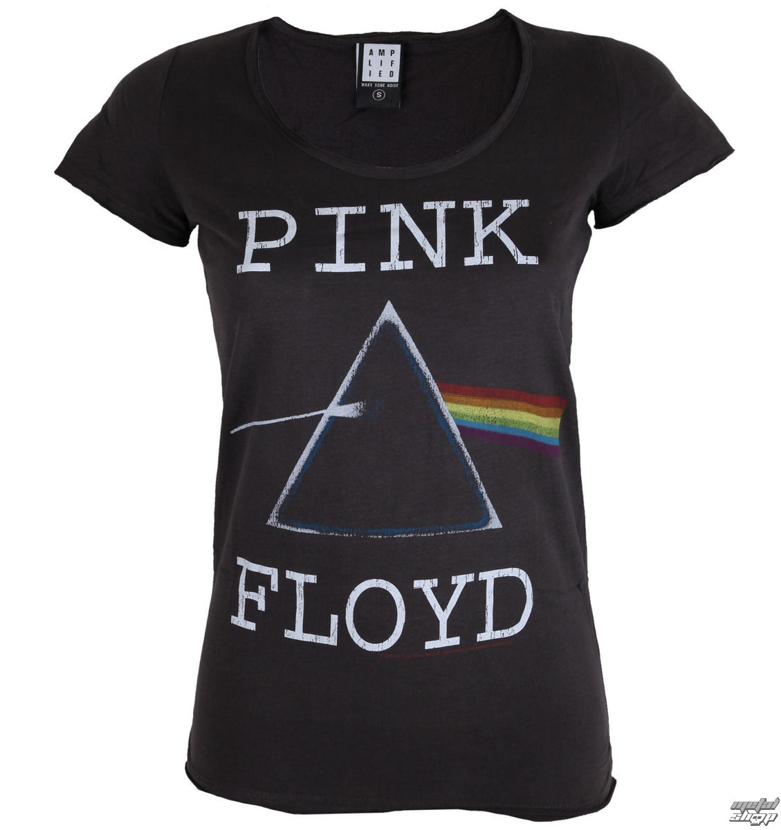 tee shirt m tal pour femmes pink floyd pink floyd amplified zav601dar. Black Bedroom Furniture Sets. Home Design Ideas