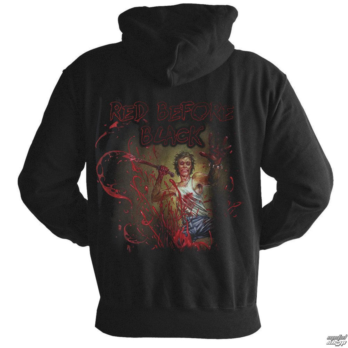 sweat-shirt avec capuche pour hommes Cannibal Corpse - Red before black - NUCLEAR BLAST