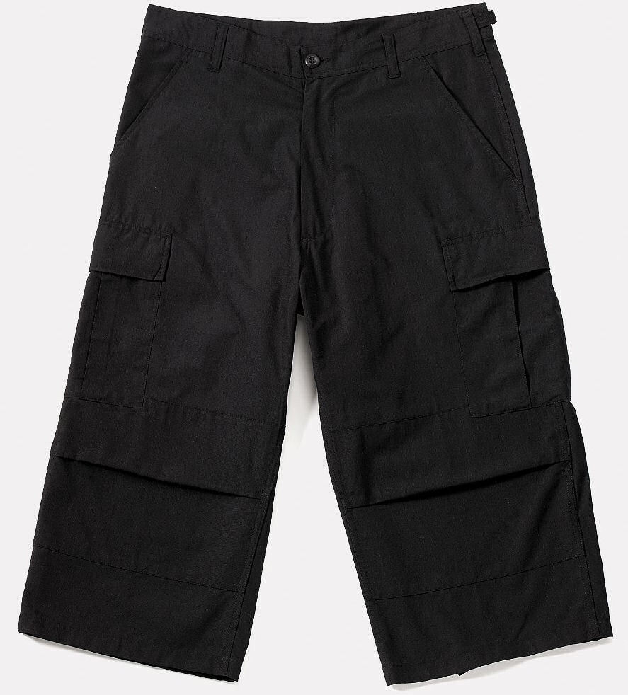 3/4 pantalon pour hommes ROTHCO - Capri - NOIRE - 8351