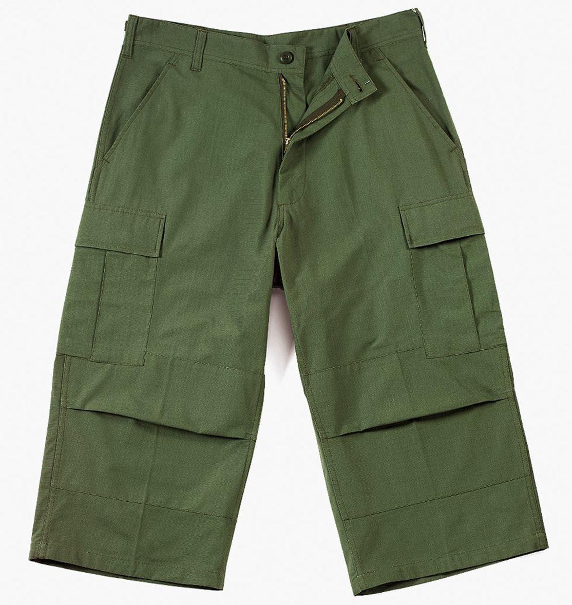3/4 pantalon pour hommes ROTHCO - CAPRI - OLIVE DRAB - 8356