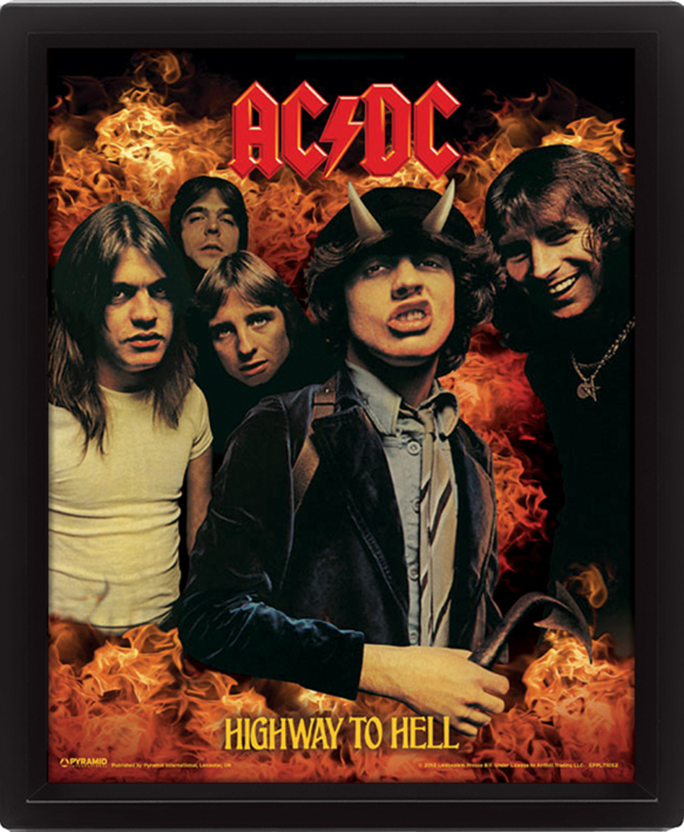 3D image AC / DC - Highway to Hell - EPPL71052