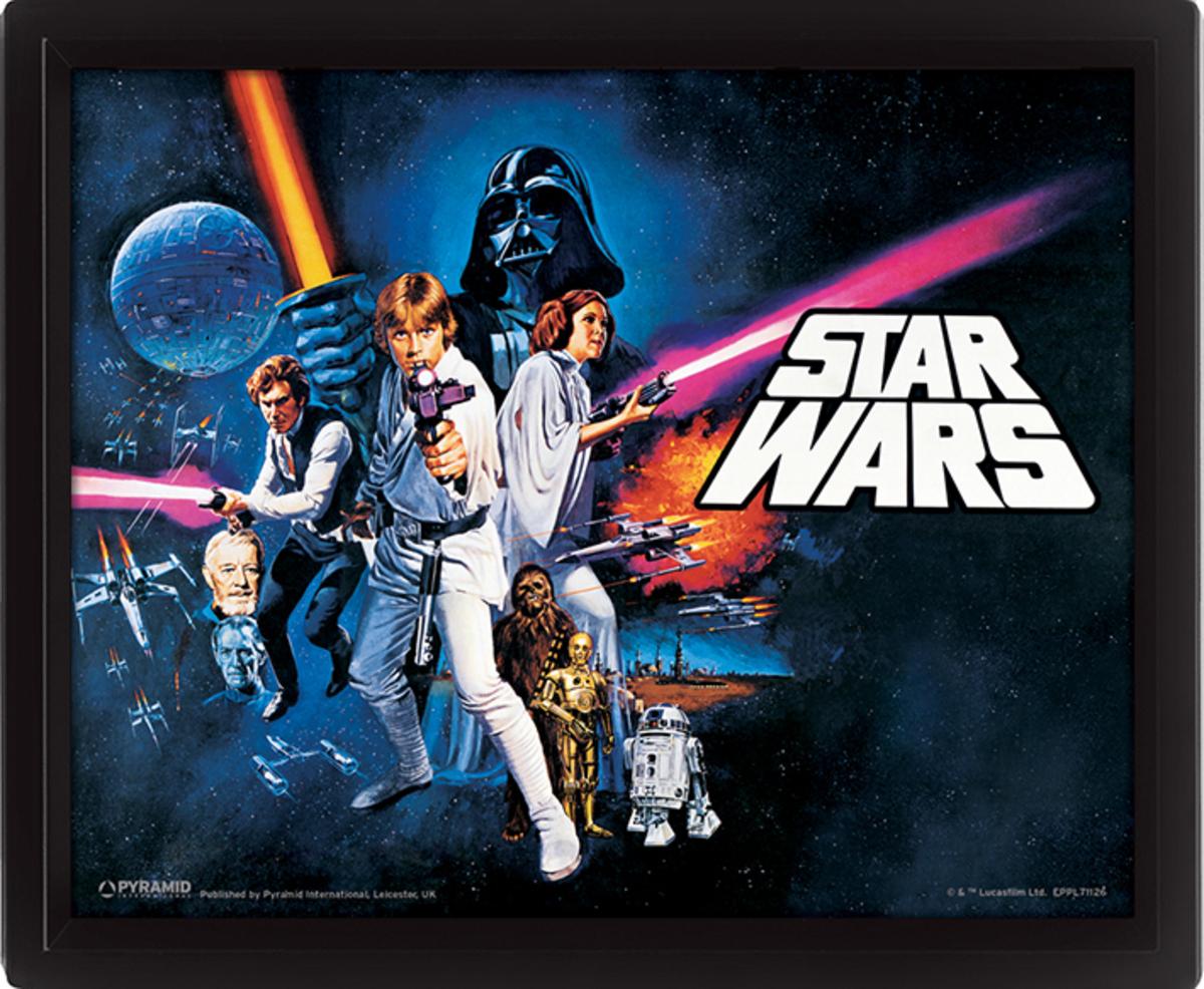 3D image Star Wars - A New Hope - EPPL71126