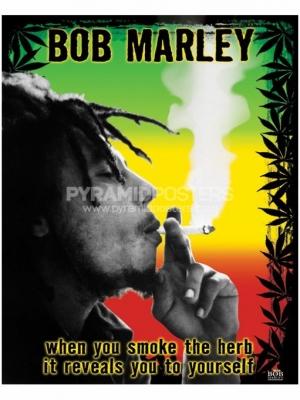 Affiche - Bob Marley (Herb) - PP0978 - de pyramides Affiches