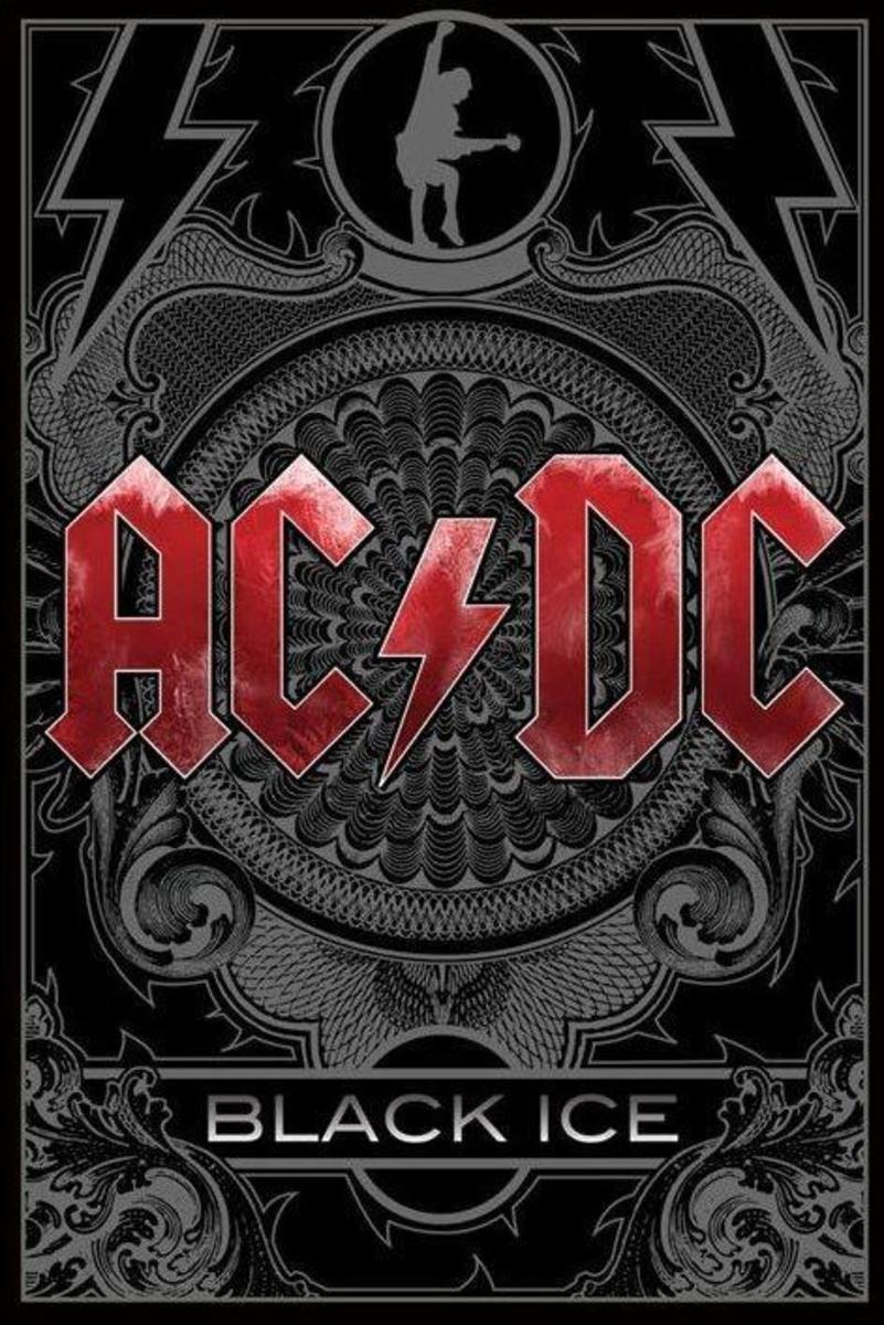 affiche AC / DC (Noire Ice) - PP31634 - de pyramides Affiches