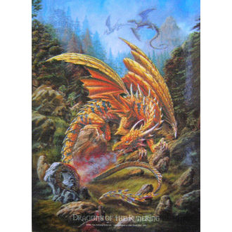 drapeau Dragons of the Runering HFL 424, HEART ROCK
