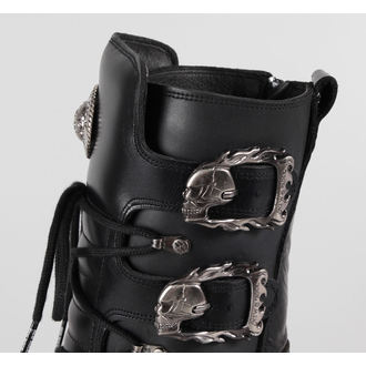 Chaussures New rock - Metal Boots (391-S1) Noire - N-8-04-700-00
