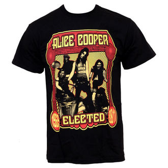 tee-shirt métal pour hommes Alice Cooper - Elected Band - ROCK OFF, ROCK OFF, Alice Cooper