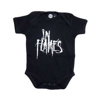 body enfants In Flames - Logo - Noire, Metal-Kids, In Flames
