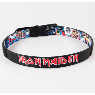 ceinture LOWLIFE - Iron Maiofn - Batailthe of the Bands - Couvrir Stud