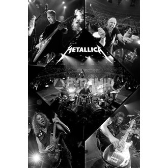 affiche Metallica - Live - PYRAMID POSTERS - PP32830