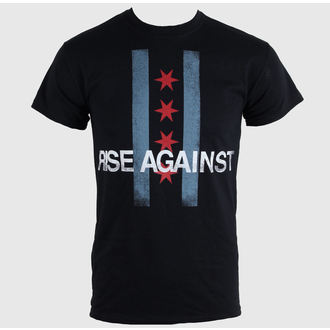 tee-shirt métal pour hommes unisexe Rise Against - Flag - KINGS ROAD, KINGS ROAD, Rise Against