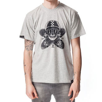 tee-shirt pour hommes MEATFLY - Easyrider B - Heather Gris