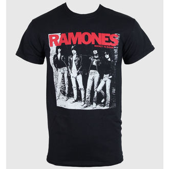 tee-shirt pour hommes Ramones - Rocket To Russia - Noire - ROCK OFF - RA02