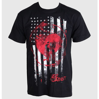 tee-shirt métal pour hommes Rise Against - Stained Flag - PLASTIC HEAD, PLASTIC HEAD, Rise Against