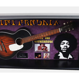 guitare avec signature Jimi Hendrix, ANTIQUITIES CALIFORNIA, Jimi Hendrix