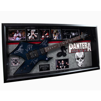guitare avec signature Pantera, ANTIQUITIES CALIFORNIA, Pantera