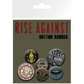 épinglettes Rise Against - Tremblement Hands - GB Affiches, GB posters, Rise Against