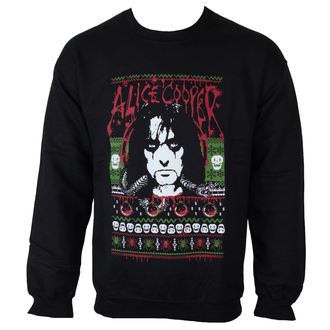 sweat-shirt sans capuche pour hommes Alice Cooper - Holiday 2015 - ROCK OFF, ROCK OFF, Alice Cooper