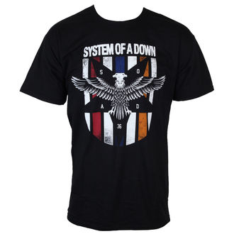 tee-shirt métal pour hommes System of a Down - Eagle Colours - ROCK OFF, ROCK OFF, System of a Down