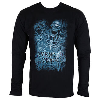 tee-shirt métal pour hommes Avenged Sevenfold - Chained Skeleton - ROCK OFF, ROCK OFF, Avenged Sevenfold