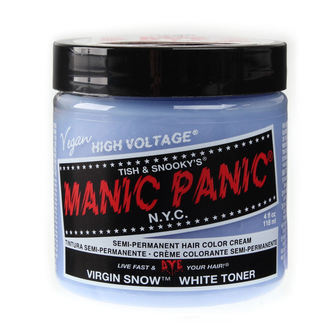 cheveux colorant MANIC PANIC - Classic - vierge Neige, MANIC PANIC
