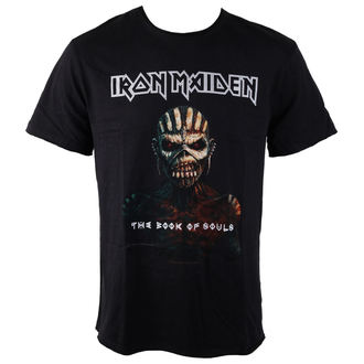 tee-shirt métal pour hommes Iron Maiden - BOOK OF SOULS - AMPLIFIED, AMPLIFIED, Iron Maiden