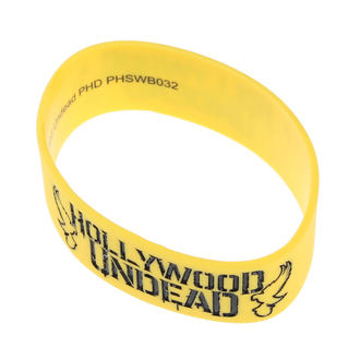 caoutchouc bracelet Hollywood Undead - Mirror - Doves Jaune - PLASTIC HEAD, PLASTIC HEAD, Hollywood Undead