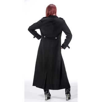 manteau pour femmes QUEEN OF DARKNESS - Double-Breasted, QUEEN OF DARKNESS