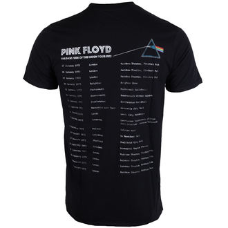tee-shirt métal pour hommes Pink Floyd - Dark Side of the Moon 1972 Tour - ROCK OFF, ROCK OFF, Pink Floyd