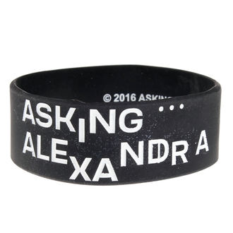 Caoutchouc Bracelet ASKING ALEXANDRIA - THE BLACK - PLASTIC HEAD, PLASTIC HEAD, Asking Alexandria