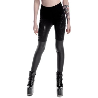 pantalon femmes (leggings) KILLSTAR - Metal Descent - Noir, KILLSTAR
