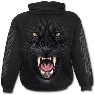 sweat-shirt avec capuche pour hommes - TRIBAL PANTHER - SPIRAL, SPIRAL