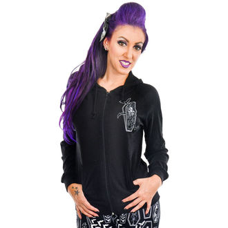 sweat-shirt avec capuche pour femmes - COFFINS - TOO FAST, TOO FAST