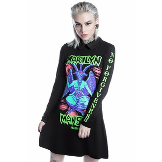 robe femmes KILLSTAR - MARILYN MANSON - Devil On Tour - Noir, KILLSTAR, Marilyn Manson