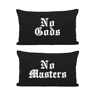 Ensemble de Taies d'oreiller BLACK CRAFT - No Gods / No Masters, BLACK CRAFT
